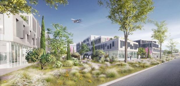 AIR PARC 1 sera un « campus » destiné à accueillir des entreprises - DR : AMM