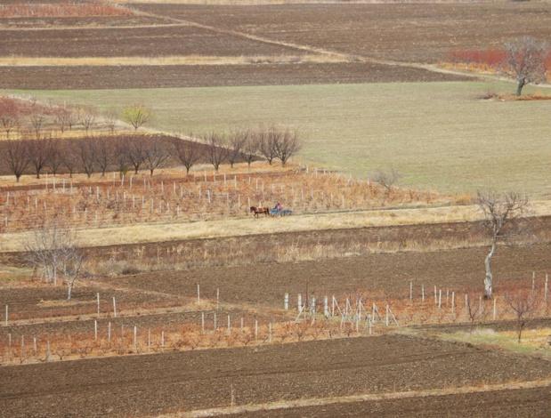 La Moldavie est une terre de plaines et de faibles collines, drainée par des rivières. Un pays sans façade maritime, bien qu'à portée de fusil de la mer Noire - DR : J.-F.R.