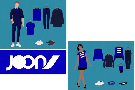 Les uniformes de la compagnie Joon, le transporteur à bas coût d'Air France - DR