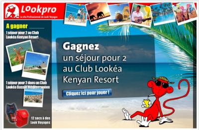 Look Voyages : jeu concours pour les agents de voyages