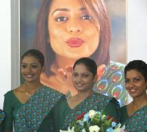 L'offensive de charme de Sri Lankan Airlines lors du dernier Travel Mart de Colombo.