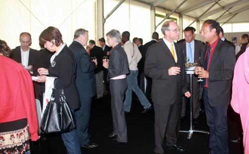 Le déjeuner organisé par l'APS auquel étaient invités ses adhérents de Normandie a remporté le succès escompté