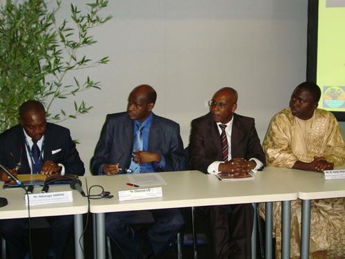 Ndiouga Sakho,Thierno Lô, Ibrahima Wade et El Hadj Malick Mbaye *