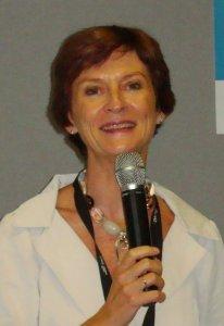 Mireille Faugère, lors de la conférence de presse de Top Resa