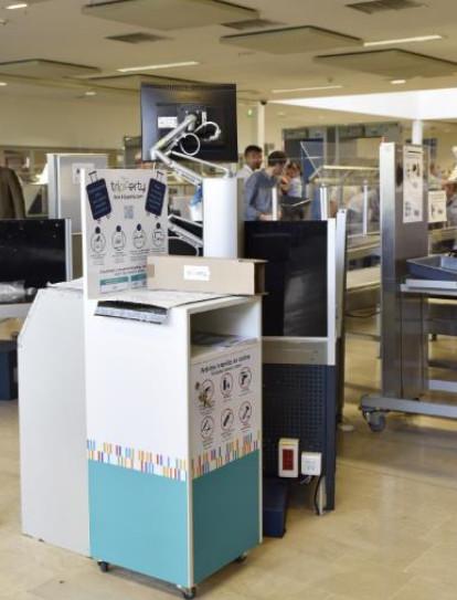 Les objets interdits en cabine et saisis lors des contrôles de sûreté ne sont plus forcément perdus pour les passagers - Photo : Aéroport Marseille Provence