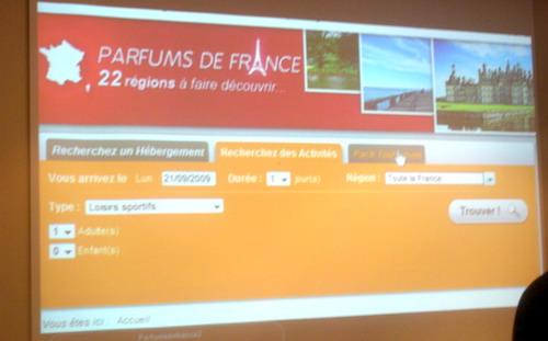 Afat / Parfums de France : lancement du site marchand
