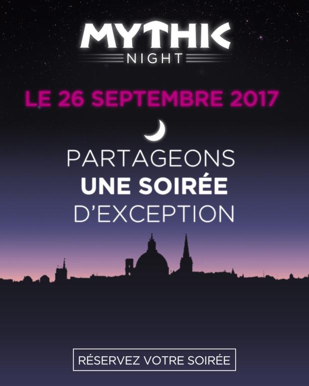 #MythicNightHéliades : Partagez une soirée d'exception avec Héliades le 26 septembre !