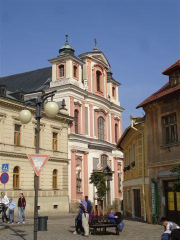 Kutna Hora, ruelles paisibles et façades baroques