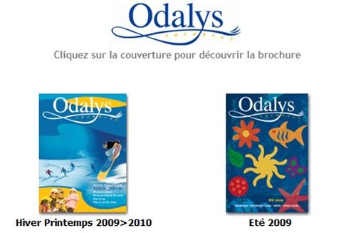 ODALYS, Hiver Printemps 2009-2010 dans Brochuresenligne.com