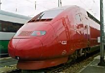 Tous les billets Thalys de et vers les Pays-Bas valables pour ce vendredi 17 juin 2005