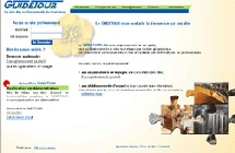 Le site Guidetour.fr