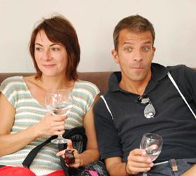 Karine Rozé et Pascal Bouchet