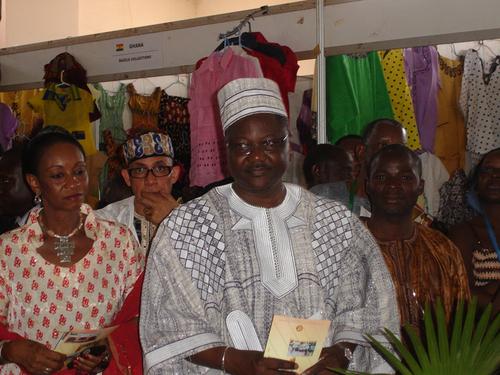 Filippe Savadogo, ministre de la Culture, du Tourisme et de la Communication du Burkina Faso, inaugurant le SITHO 2009