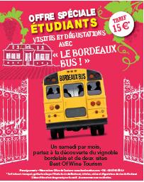 Oenotourisme : ''Bordeaux Bus'', un produit sur-mesure pour les étudiants