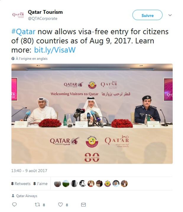 Visas : le Qatar ouvre les frontières à 80 nationalités