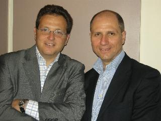 Yariv ABEHSERA, DG et Olivier ABERGEL, en charge de la stratégie multi-canal.