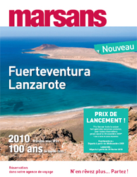 Marsans lance les îles de Fuerteventura et Lanzarote