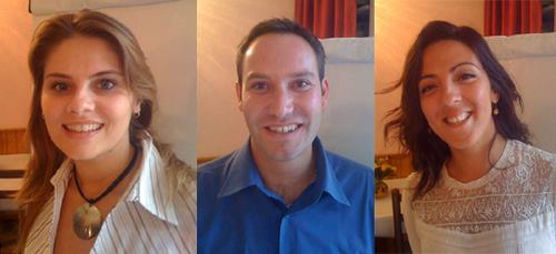 Carine Rémy, Christophe Jaladis et Denise Abassi