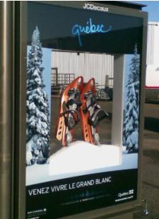 Le Québec s'affiche à Paris