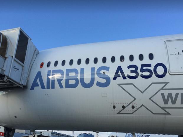 French blue devrait recevoir un second A350 d'ici la mi-2018 © French blue