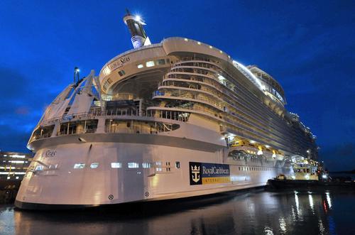 Oasis of the Seas : le géant des mers lancé aujourd'hui