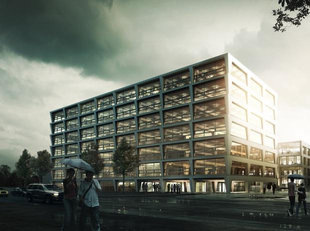 L'hôtel comportera une suite et 164 chambres spacieuses, et surtout un espace de conférences modulable à l'envi de 300 m2 © Vienna House