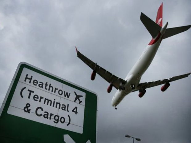 A Londres-Heathrow, premier aéroport européen © DR