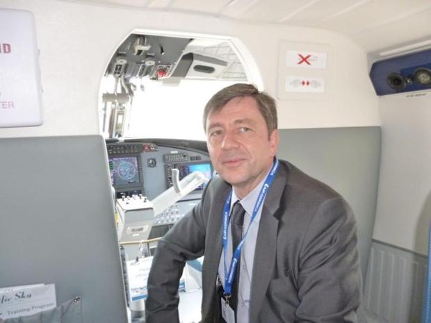 Hervé Pierret voit l'avenir d'Air Corsica en Scandinavie, au Royaume-Uni, ou en Allemagne © DR