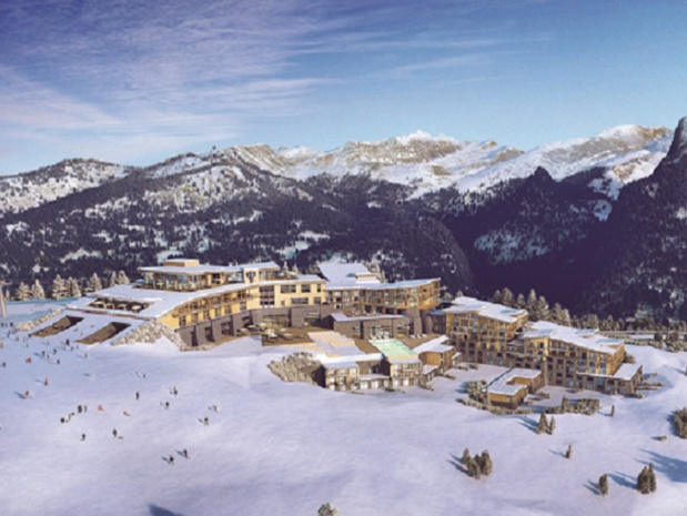 Le Club Med « Grand Massif Samoëns-Morillon » (4 Tridents) comptera 423 chambres et proposera une offre orientée famille © club med