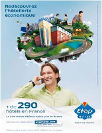 Etap Hotel part en campagne dès le 3 novembre 2009