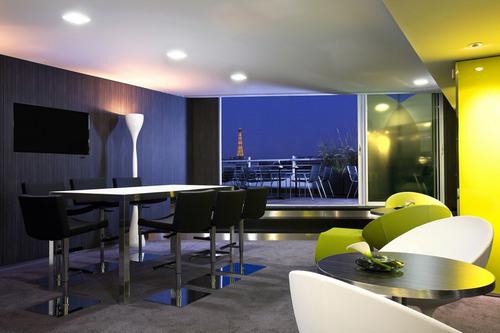 M ridien toile paris un nouvel espace affaires plus cosy - Hotel meridien paris porte maillot ...