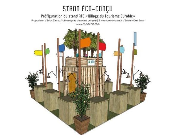 stand éco-conçu - IFTM Top Resa et ATD