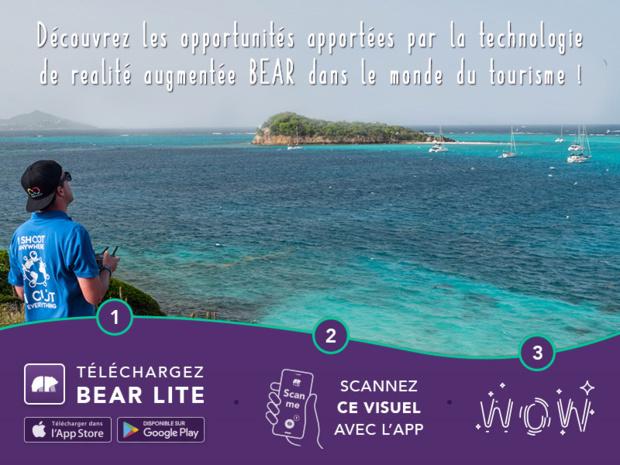 En utilisant la solution BEAR, les différents acteurs du tourisme peuvent promouvoir leurs services en mettant en avant des vidéos des destinations, les avis de leurs clients, donner de la profondeur et du relief pour leurs voyages (c) BEAR