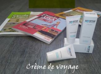Voyamar : des crèmes Valcena dans les carnets de voyages
