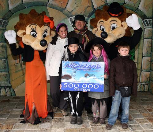 Nigloland accueille son 500 000ème visiteur