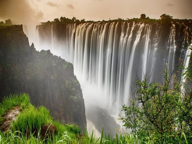 Parmi les nouvelles destinations proposées par Soléa, les chutes Victoria, entre Zambie et Zimbabwe © DR