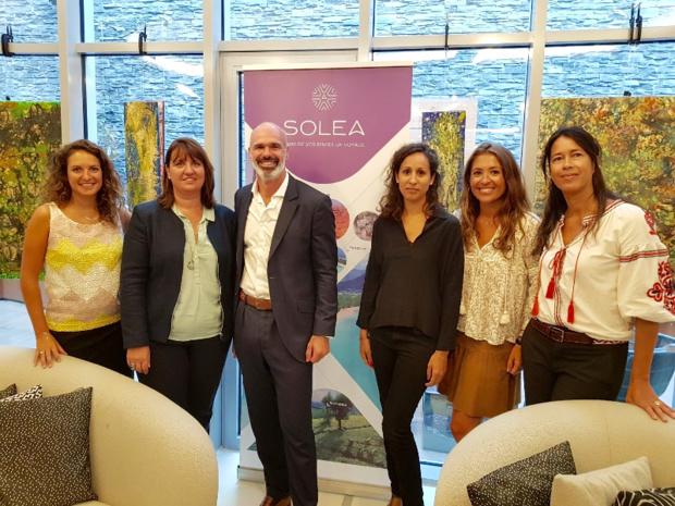 L'équipe de Solea - DR