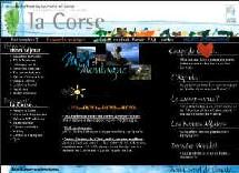 La page d'accueil du portail