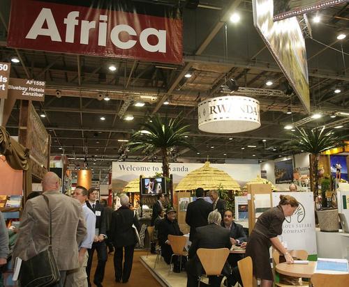 World Travel Market 2009, vue générale de la Zone Afrique