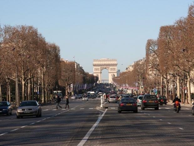 L'Arc de Triomphe est le monument le plus visité de France, avec 1,12 million de visiteurs sur la période (une augmentation de 26% par rapport au 1er semestre 2016) - photo © JDL
