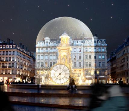 La Fête des Lumières proposera une horloge du XIXe siècle place des Jacobins - Photo : DR