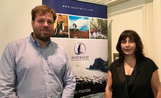 Dominique Nabzar, Sales France et Frédéric Guillemard, marketing manager Europe-Asie /photo JDL