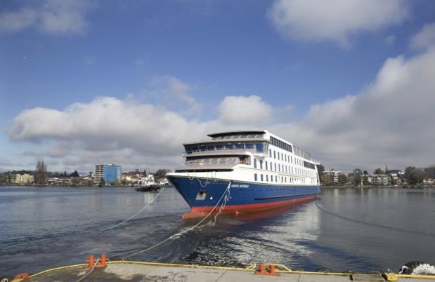 """Le """"Ventus Australis"""" se prépare à rejoindre son sister-ship /photo CA"""