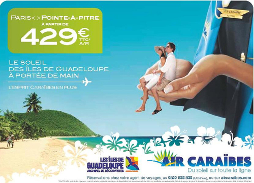 Saint martin guadeloupe air cara bes part en campagne - Office de tourisme guadeloupe en france ...
