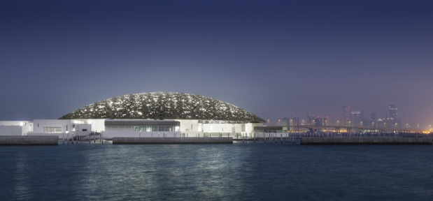 Vue du bâtiment du Louvre Abu Dhabi - Photo : Mohamed Somji
