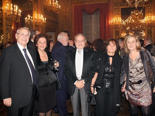 Manor a mis les petits plats dans les grands à l'occasion de la soirée de clôture sponsorisée par Amadeus au Palazzo Borghèse à Florence