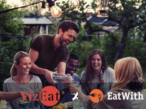 La plateforme de réservation de repas chez l'habitant VizEat vient de racheter son concurrent américain EatWith (c) VizEat