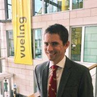 Après 10 ans dans l'industrie de l'aviation, Nick Ashton intègre Vueling.  - DR
