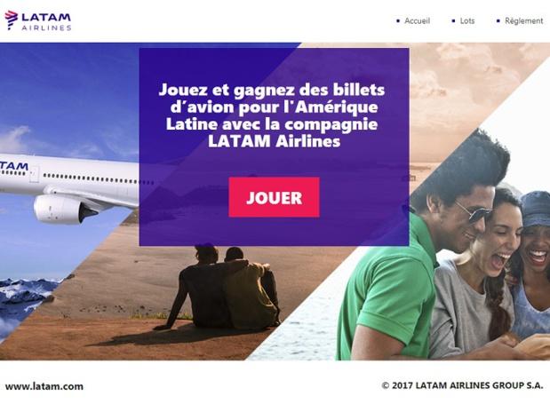 LATAM Airlines lance un jeu concours pour les agents de voyages, jusqu'au 10 octobre 2017 - DR
