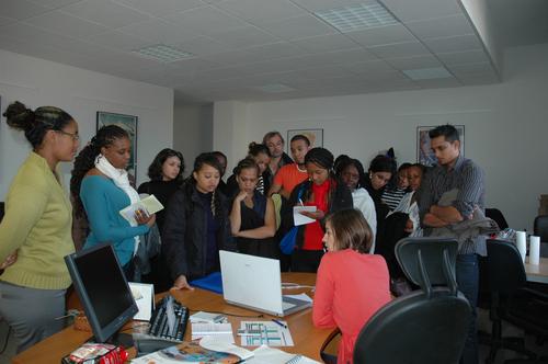BTS Tourisme : 20 étudiants Réunionnais dans les locaux de TourMaG.com